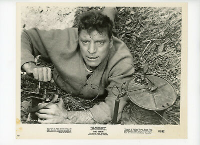THE TRAIN Original Movie Still 8x10 Burt Lancaster, Has Stain 1965 7220