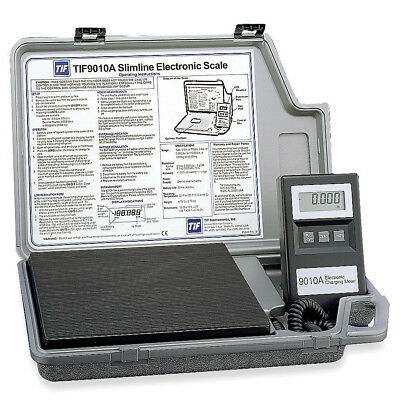 TIF Instruments Slimline Refrigerant Electronic Scale 9010A NEW