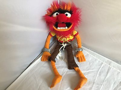 """Licensed Disney Store Muppets MOST WANTED Stuffed ANIMAL 17"""" ANIMAL PLUSH"""