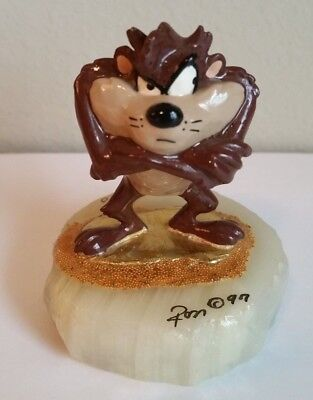 Small Limited Edition Tasmanian Devil Looney Toons Statue - Taz - Ron Lee - RARE