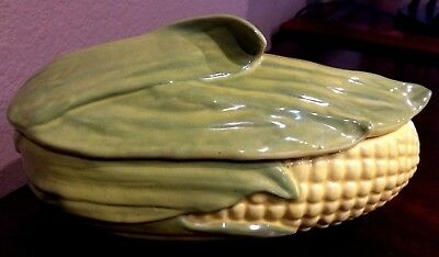 "Shawnee USA ""KING CORN"" COVERED CASSEROLE DISH ~ #74"