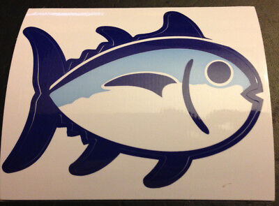 ()  New Two Southern Tide The Skipjack Sticker Car Decal