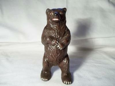 Cast Iron Grizzly Bear Wildlife Nature Country Still Coin Money Savings Bank