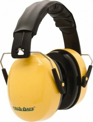 PRO-SAFE Single Position, 25 NRR, Yellow Earmuffs Over the Head