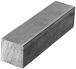 Value Collection 1 Inch Square x 24 Inch Long, Aluminum Square Bar +/- 0.25 I...
