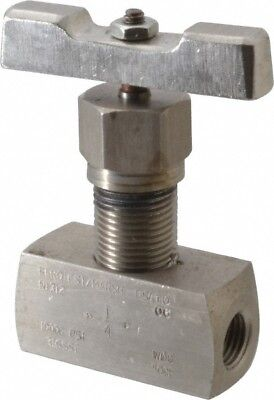 Value Collection 10,000 Max psi, 1/4 Inch Pipe, Stainless Steel, Inline, Hard...