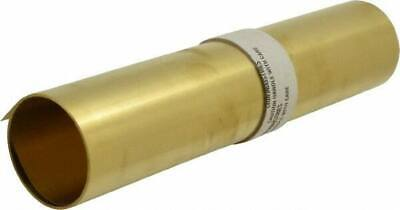 Made in USA 10 Ft. Long x 12 Inch Wide x 0.005 Inch Thick, Roll Shim Stock Brass