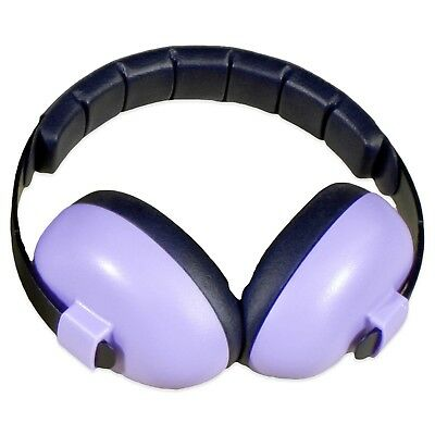 Baby Banz Infant Hearing Protection Earmuff, 3+ months, Ear Protection, Purple