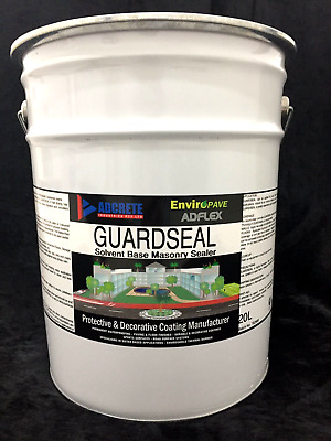 Concrete and exposed aggregate concrete sealer 20L