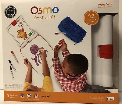 Osmo Creative Kit! New! 3 Hands On Games!