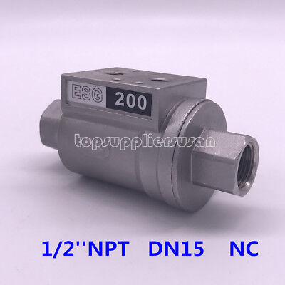 1/4'' DN15 Pneumatic Shuttle Valve NC For Beer Filling Machinery ESG 200