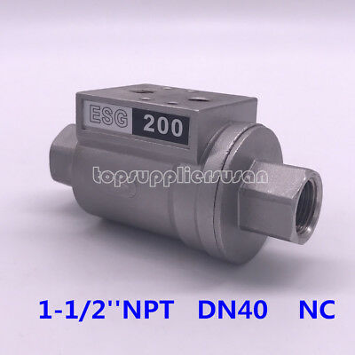 1-1/2'' DN40 Pneumatic Shuttle Valve NC For Beer Filling Machinery ESG 200