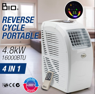 16000 BTU Portable Air Conditioner 18-30oC Cooling/heating 4-in-1 Dehumidifier