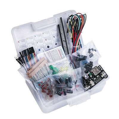 Electronic DIY Parts Fun Kit Bundle Breadboard Cable EL-CK-002 With Arduino VST
