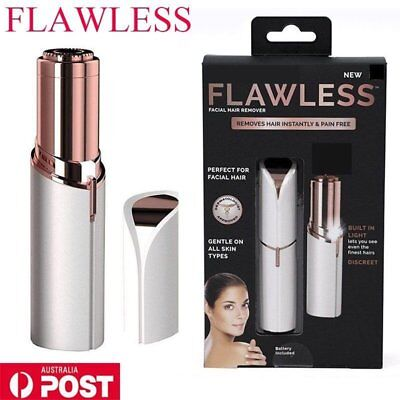 Finishing Touch Flawless Women Painless Hair Remover Face Facial Hair Removal XZ