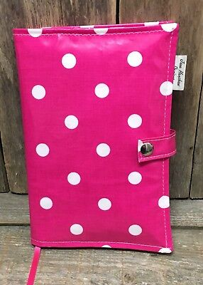 A5 Diary Cover,Journal Cover,Nurses Diary Cover,Week To View Cover,Pink Spotty