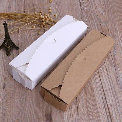 5 X Kraft Paper Boxes Handmade Crafts Gift Packaging Wedding Party Favor Case