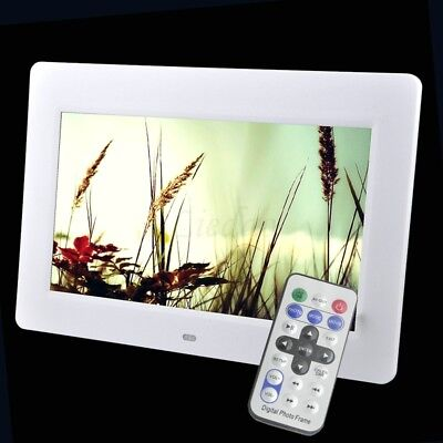 "10.1"" LED Backlight HD 1024*600 Digital Photo Frame Electronic Album MP4 US"