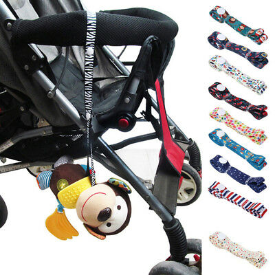 Baby Stroller Accessories Toys Fixed Cute Strap Holder Anti Lost Drop Band Saver