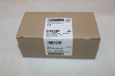 Phoenix Contact Inline function terminal - IB IL RS UNI-PAC - 2700893 New