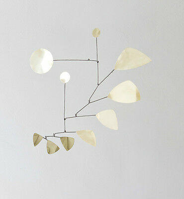 Mobilee  Mobile Messing Brass Lappalainen Hanging sculpture Hangingmobile