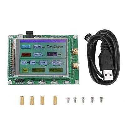 ADF4351 RF Sweep Signal Source Generator Module 35M-4.4G+STM32 TFT LCD ams