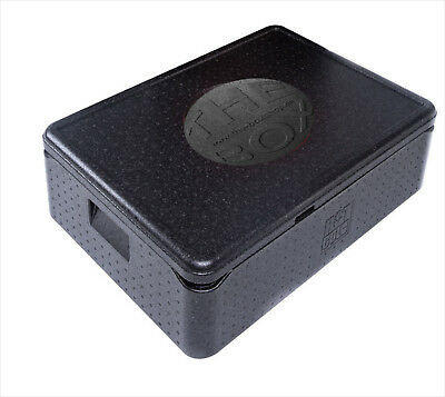 B-Ware -EPP Thermobox 68,5 x 48,5 x 22,5 cm Isolierbox Pizzabox Art. 79800 Black