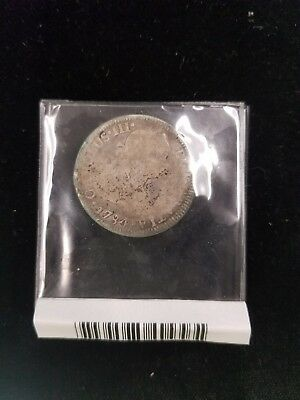 Spain 2 Reale 1784 Silver Coin