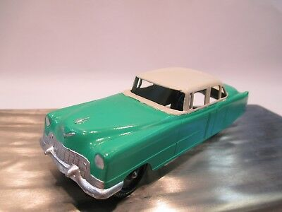 Vtg Tootsietoy 1950's Cadillac 62' Four Door W/Tow Hook Professionally Restored