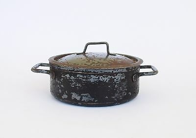 Antique Cast Iron Small Pan With Two Handles