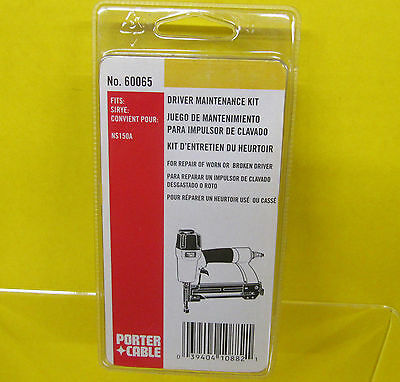 PORTER CABLE 60065 Driver Piston Bumper Gasket Repair KIT for NS150A Stapler NEW