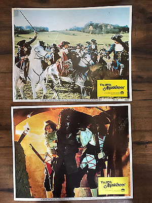 The 5th Musketeer 1979 Columbia lobby cards(2) Iron Mask Dueling