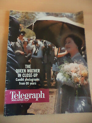 OLD VINTAGE TELEGRAPH 1990s MAGAZINE JULY 1990 QUEEN MOTHER BIRTHDAY ROYALTY