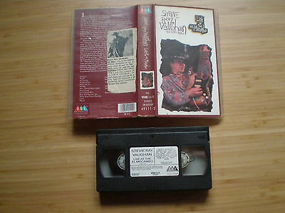 STEVIE RAY VAUGHAN Live At The El Mocambo VHS-PAL SMV 1991 & Doble Trouble