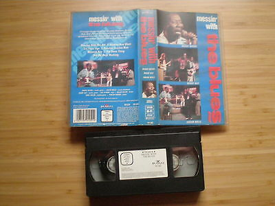 MESSIN WITH THE BLUES VHS-PAL BMG 1991 Muddy Waters Buddy Guy Junior Wells