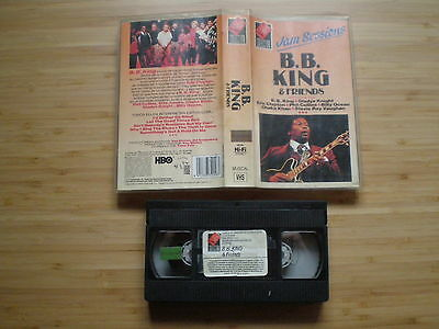 BB KING & FRIENDS Jam Sessions SPAIN VHS-PAL 1989 E. CLAPTON Stevie Ray Vaughan