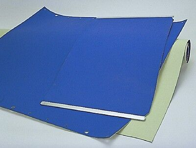 Heidelberg Quick Master 46 Offset Printing Blanket 21 7/8x13 1/4 with Bars 4ply