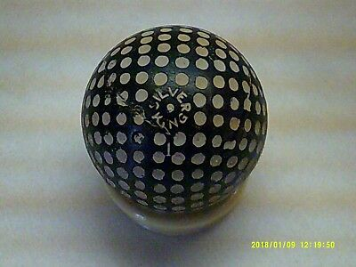Rare Vintage Antique Unusual Silver King Nice Color Dimple Golf Ball