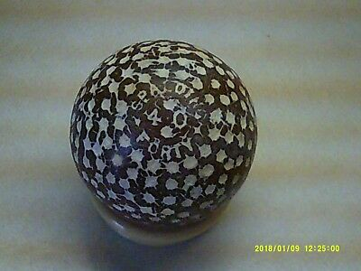 Rare Vintage Antique Unusual Spalding 40 Forty Dimple Golf Ball