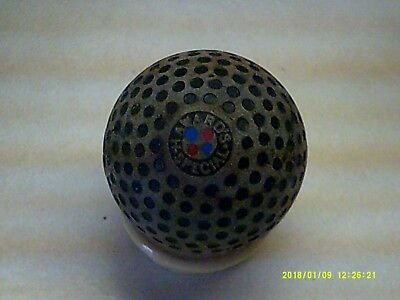Rare Vintage Antique Unusual Haward's Special Dimple Golf Ball - Front Is Nice
