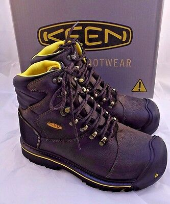 "New KEEN Utility 6""MILWAUKEE Soft Toe Work Boots Men's Size 14 D RETAIL $150"
