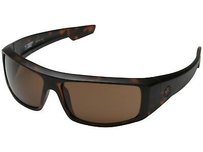 New Spy Optic Logan Wrap Sunglasses - MATTE CAMO TORT - HAPPY BRONZE