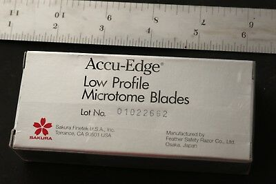 Accu-Edge Low Profile Microtome Blades 50 Blades