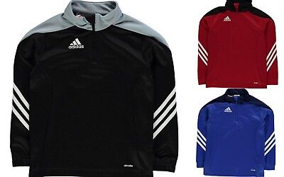 timeless design 18998 2cf70 NEW ADIDAS JUNIOR BOYS SERE 14 HALF ZIP TRAINING TRACK TOP age ...