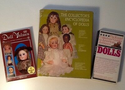 The Collectors Encyclopedia Of Dolls,The Knopf Collectors Guide, Doll Values