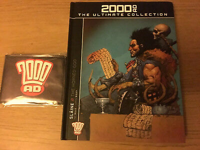 2000AD ULTIMATE COLLECTION  Slaine The Horned God (used) + 2000ad wallet (new)