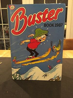 Vintage Buster Book 1987 Comic Annual Classic