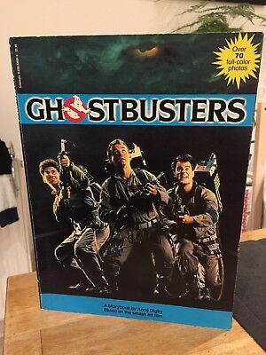 Ghostbusters - Storybook by Anne Digby (1984 Edition) ISBN 0 590 70423 0
