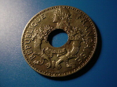 French Indochina 1938 5-Centimes In Excellent Condition