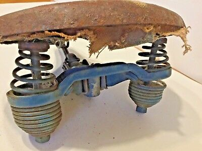 Antique metal bike motorcycle bicycle Seat / collectible vintage / restoration